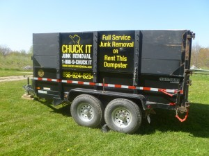 Chuck It Junk Removal Dumpster Rental